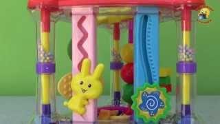 Для малышей развивающий комплекс БамБини. Обзор игрушки