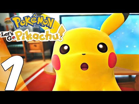 Pokemon Lets Go Pikachu - Gameplay Walkthrough Part 1 - Prologue (Full Game) Switch