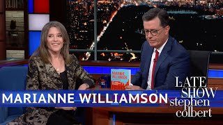 Marianne Williamson: Peacebuilders Will Have a Seat At the Table of Power