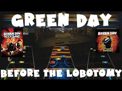 Green Day - Before The Lobotomy - Green Day Rock Band Expert Full Band