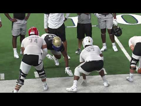 tcitv:-clemson-players-shine-in-1-on-1-line-drills-at-the-opening-finals