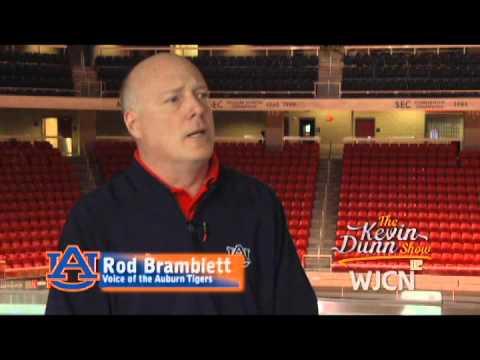 Rod Bramblett Voice Of The Auburn Tigers On The Kevin Dunn Show
