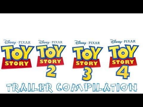 Ver Toy Story 1-4 | Trailer Compilation en Español