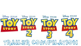 Toy Story 1-4 | Trailer Compilation