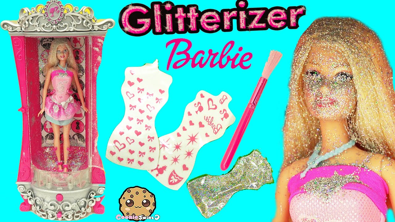 glitter machine playset cookie swirl