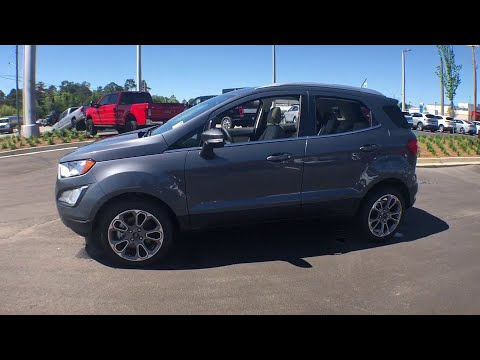 2019 Ford EcoSport Statesboro, Metter, Augusta, Dublin, Claxton, GA SES9002