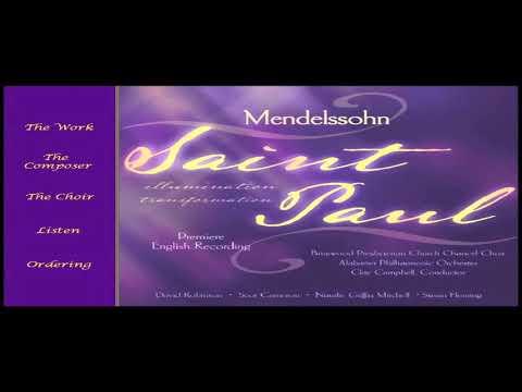 Mendelssohn's St. Paul Oratorio Sung in English