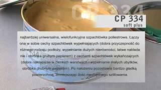 Szpachlówki CP 336 Glass, CP 334 Soft Plus PROFIX