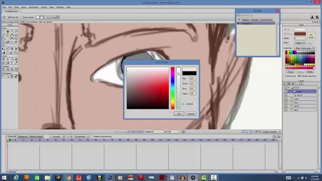 anime studio 9 tutorial pdf