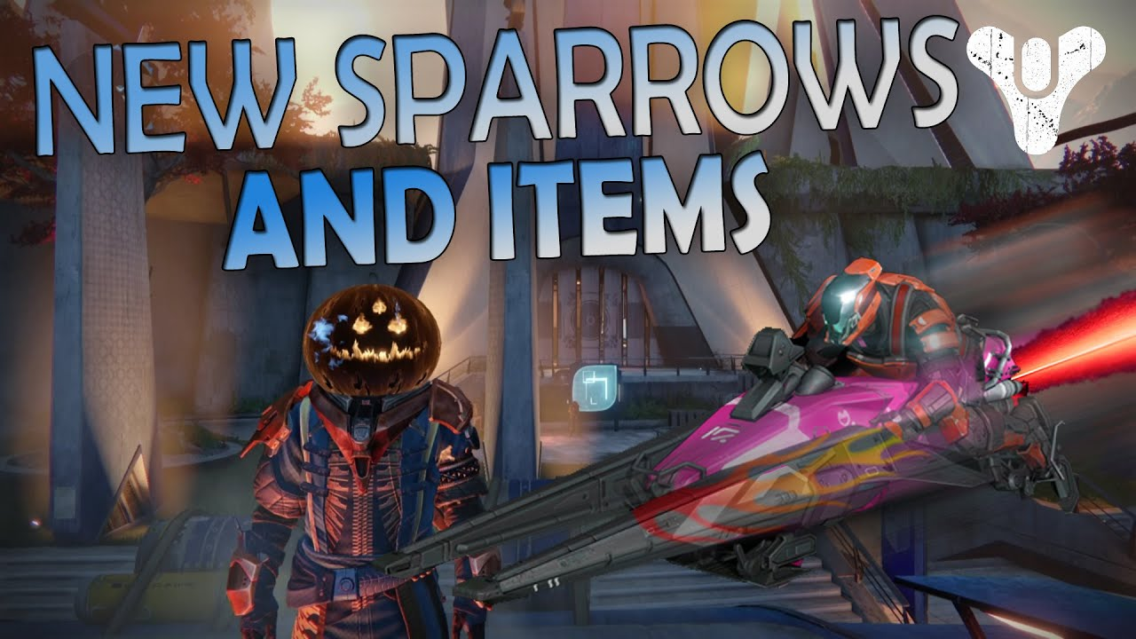 Destiny - Halloween Update - New Sparrows, and Items