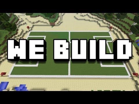 Minecraft We Build - #76 FOOTBALL PITCH