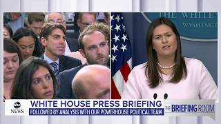 White House press briefing on Supreme Court pick, Michael Cohen, immigration | ABC News