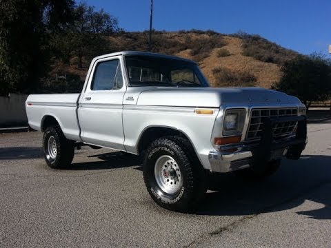 1979 ford f-150 - youtube