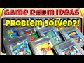 Game Room Ideas - Solving Nintendo Game Boy cartridge storage/display (+ many others)