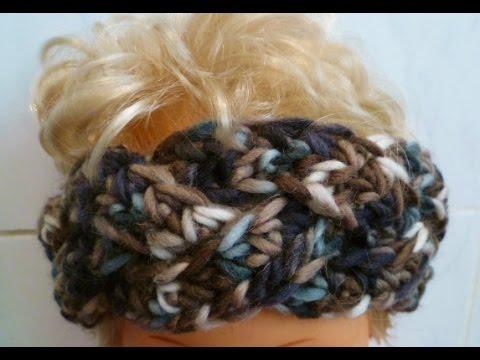 Ganz einfach ein geflochtenes Stirnband häkeln - crochet Headband ...