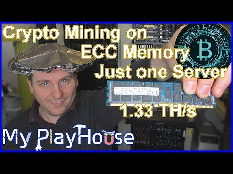 Crypto Mining On ECC Memory 1.33 TH/s On One Server - 669