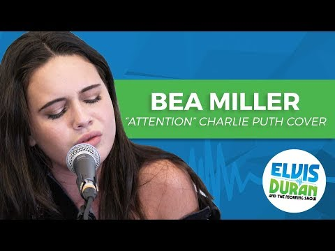 "Bea Miller - ""Attention"" Charlie Puth Acoustic Cover 
