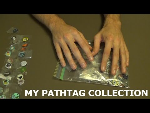 Super Crinkles! - My Pathtag Collection [ASMR]
