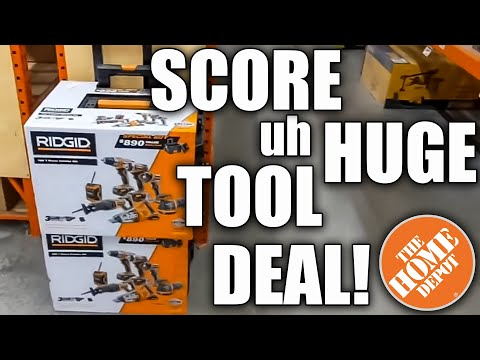 BEST TOOL DEALS for NEW YEAR 2021 at THE HOME DEPOT