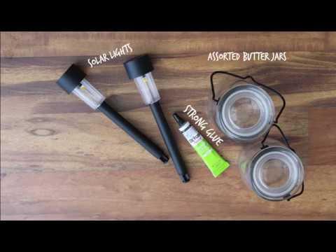 DIY Solar Lantern   Milkhouse Candles