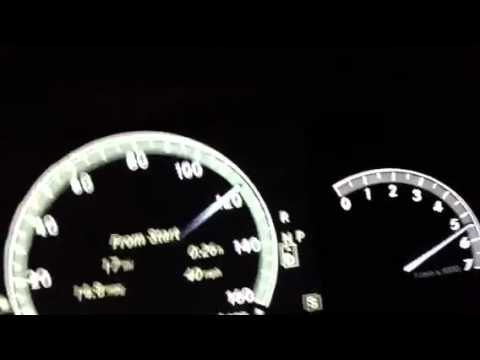 2012 S550 4matic 0-130 (limited top speed) - YouTube