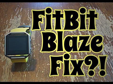 Fitbit Blaze Back Button Fix!?