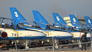 Home of the Blue Impulse 松島基地 ブルーインパルス 2020/2/4 1st.飛行訓練 JASDF Matsushima A.B.