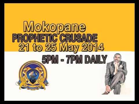 ADVERT MOKOPANE CRUSADE Designed by Zenzo Dominic M