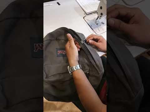 How to repair zipper slider (basic demo)
