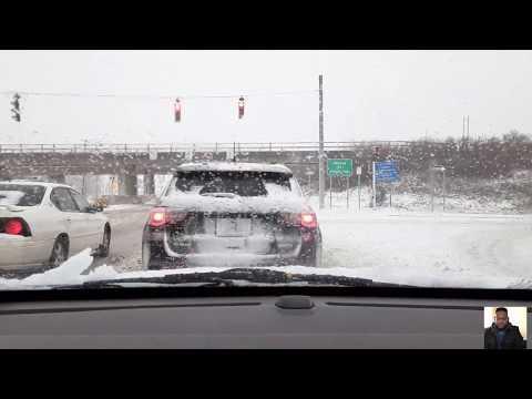Driving In The Snow Niagara Falls Ny 1/18/20
