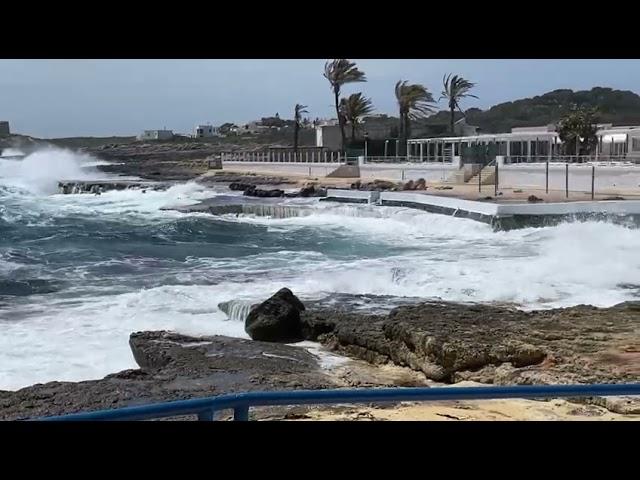 Mala mar en S'Algar