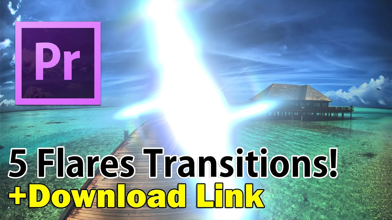 Free 5 Flares Transitions Alpha channel + Download link - YouTube