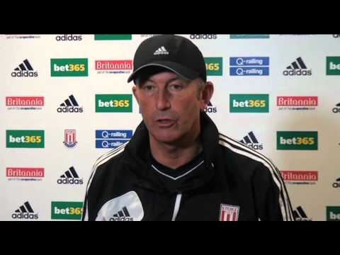 Stoke v Arsenal - Pulis on Gunners' 'great crop' - Premier League 2012-13 | IndySportsNewsTV
