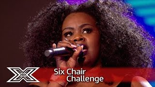 Anelisa Lamola fights for the last chair | Six Chair Challenge | The X Factor 2016