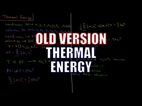 Computational Chemistry 3.6 - Thermal Energy (Old Version)