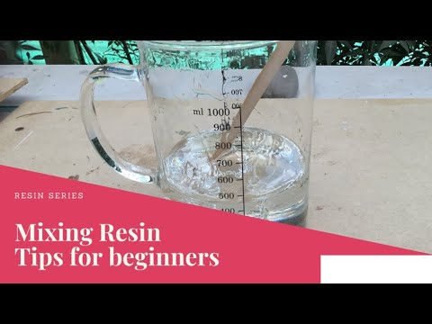 #90: mixing your resin. Tips for beginners. MAD resin 💖.