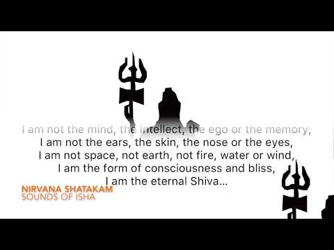 Nirvana Shatakam (with Lyrics & Meaning)