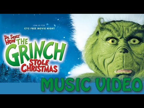 How The Grinch Stole Christmas (2000) Music Video