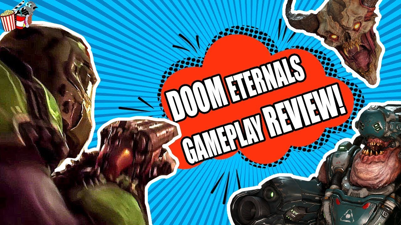 DOOM eternal quakecon GAMEPLAY review and thoughts!