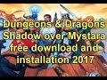 Dungeons & Dragons Shadow over Mystara free download and installation 2017