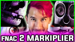 FIVE NIGHTS at CANDY'S 2 MARKIPLIER EASTER EGG! He's in GAME | Five Nights at Candy's 2 Easter Eggs