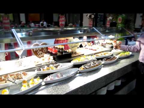RIU Palace Costa Rica Dinner Buffet Walkthrough