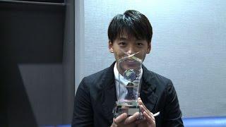 竹内涼真が「ベスト スタイリング アワード 2016」男性部門を受賞し、横...