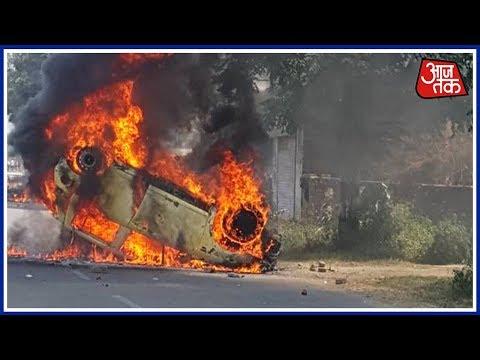 स्पेशल रिपोर्ट| जातीय हिंसा की आग में झुलसा महाराष्ट्र; मुंबई में कई जगह हिंसा, ट्रेनों के पहिए जाम