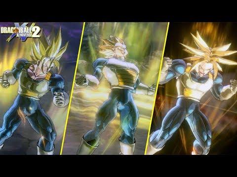 Dragon Ball Xenoverse 2 : The Ascended Saiyans Transformation MOD! Goku, Vegeta & Trunks