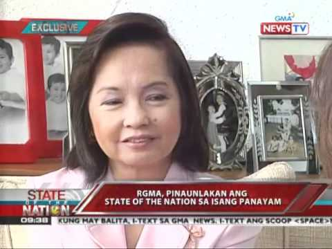 SONA - Jessica Soho interviews Pampanga Rep. Gloria Macapagal-Arroyo 4/5/11