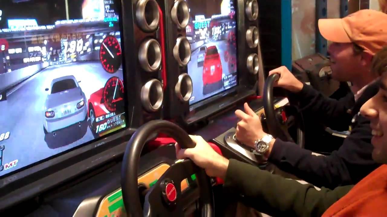 japanse car racing arcade game youtube