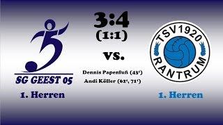 Highlights SG Geest 05 vs. TSV Rantrum - 03.08.2016