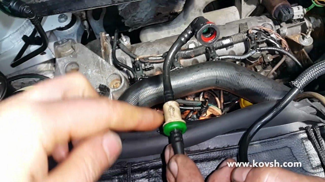 Причина выхода из строя топливной аппаратуры на двигателях Vivaro, Movano dCi