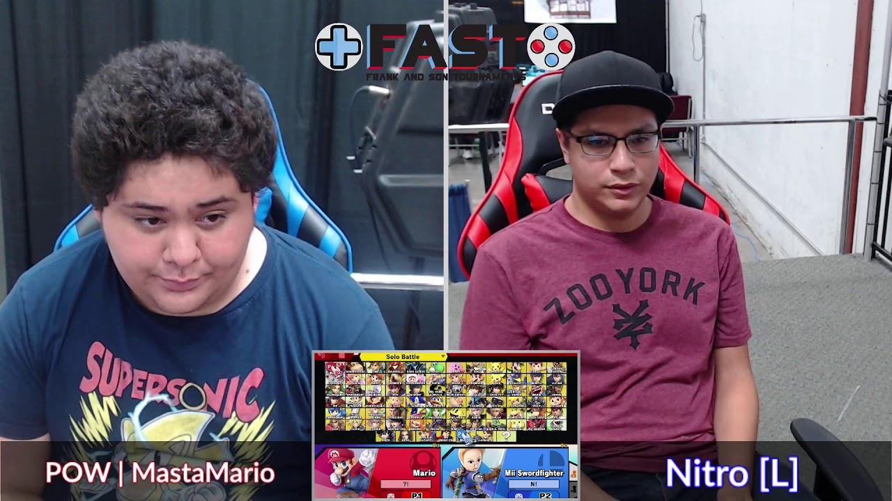 Download FAST #10 (Grands) - Nitro (Joker) vs. POW   MastaMario (Mario) - Smash Ultimate